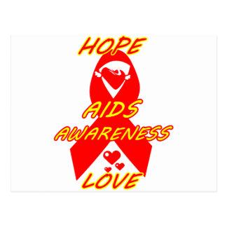 AIDS Awareness#3_ Postcard