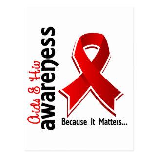 AIDS Awareness 5 Postcard