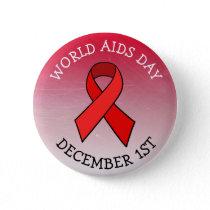 AIDS AWARENESS DAY DECEMBER 1ST BUTTON
