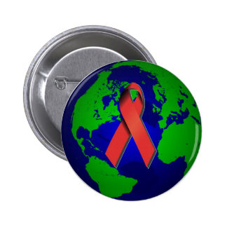 AIDS Awareness for All Button