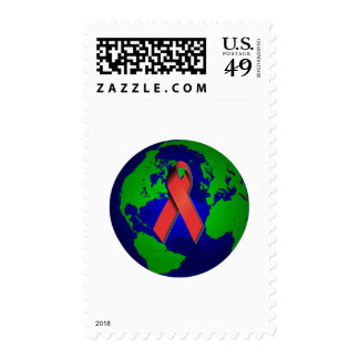 AIDS Awareness for All Postage