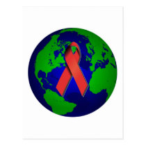 AIDS Awareness for All Postcard