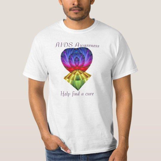 AIDS Awareness,help find a cure_ T-Shirt