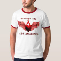 AIDS Awareness,Help find a curet_ T-Shirt