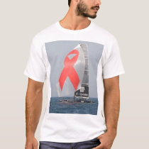 aids awareness in the America's Cup T-Shirt