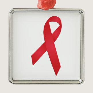 AIDS Awareness Metal Ornament