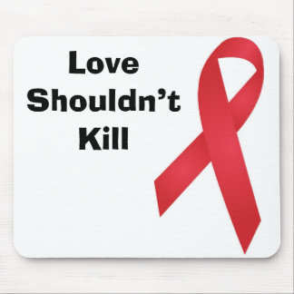 AIDS Awareness Mouse Pad