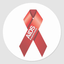 AIDS Awareness Sticker