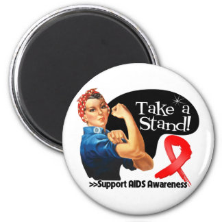 AIDS Awareness Take a Stand Refrigerator Magnets