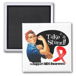 AIDS Awareness Take a Stand Magnet