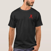 AIDs Awareness Tee-Male T-Shirt