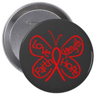 AIDS Butterfly Inspiring Words Pins