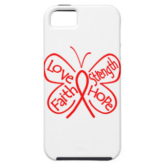 AIDS Butterfly Inspiring Words iPhone 5 Covers