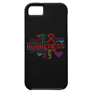 AIDS Colorful Slogans iPhone 5 Covers