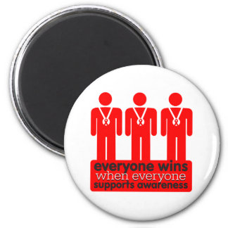 AIDS Everyone Wins With Awareness Magnets