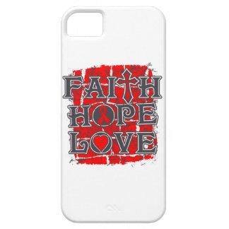 AIDS Faith Hope Love iPhone 5 Cover