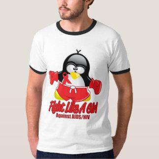 AIDS Fighting Penguin Shirt