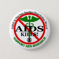 AIDS green pin template
