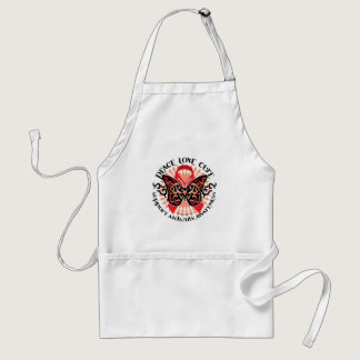 AIDS/HIV Butterfly Tribal 2 Adult Apron