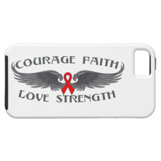 AIDS HIV Courage Faith Wings iPhone 5 Cover