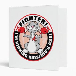 AIDS/HIV Fighter Cat Binder