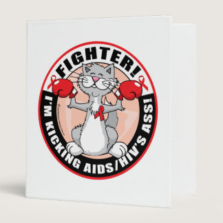 AIDS/HIV Fighter Cat Binder