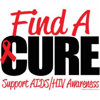 AIDS/HIV Find A Cure Cutout