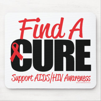 AIDS/HIV Find A Cure Mouse Pad