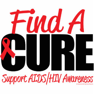 AIDS/HIV Find A Cure Photo Sculptures