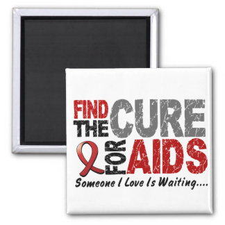 AIDS / HIV Find The Cure 1 Magnet