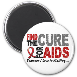AIDS / HIV Find The Cure 1 Magnets