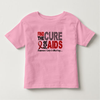 AIDS / HIV Find The Cure 1 Toddler T-shirt
