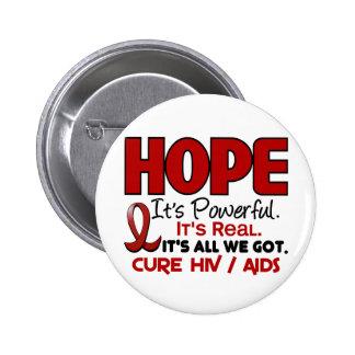 AIDS HIV HOPE 1 PINS