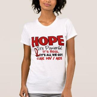 AIDS HIV HOPE 1 T SHIRTS