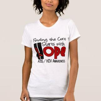 AIDS HIV HOPE 4 T SHIRT