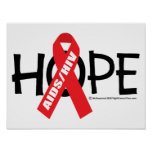 AIDS/HIV Hope Print