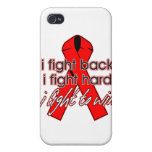 AIDS HIV I Fight Back iPhone 4 Covers