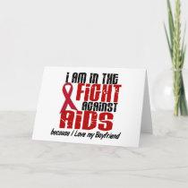 AIDS HIV In The Fight 1 Boyfriend Card