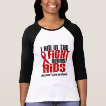 AIDS HIV In The Fight 1 Cousin T-Shirt
