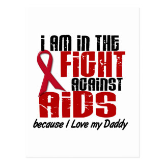AIDS HIV In The Fight 1 Daddy Postcard