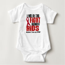 AIDS HIV In The Fight 1 Father Baby Bodysuit