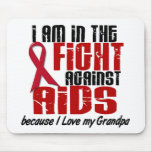 AIDS HIV In The Fight 1 Grandpa Mouse Pads