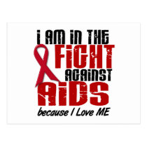 AIDS HIV In The Fight 1 Me Postcard