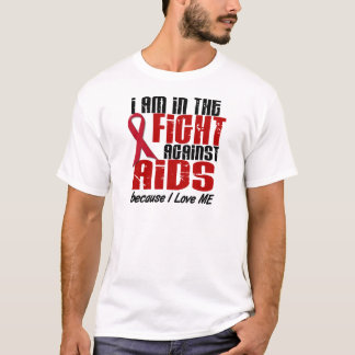 AIDS HIV In The Fight 1 Me T-Shirt