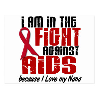 AIDS HIV In The Fight 1 Nana Postcard