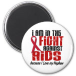 AIDS HIV In The Fight 1 Nephew Refrigerator Magnet