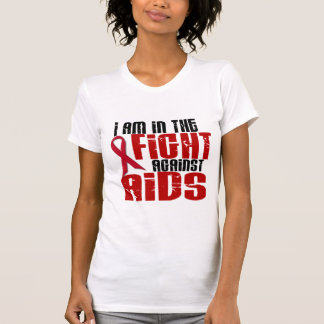 AIDS HIV In The Fight 1 T-Shirt