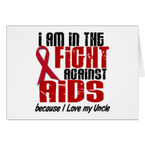 AIDS HIV In The Fight 1 Uncle Card