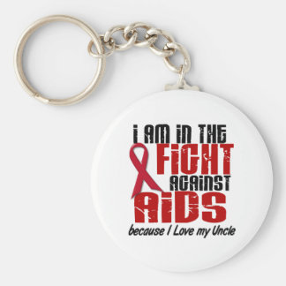 AIDS HIV In The Fight 1 Uncle Keychain