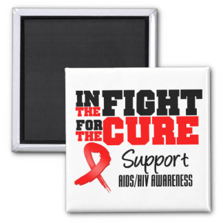 AIDS HIV In The Fight For The Cure Magnets